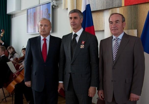 Анатолий Быков награждён знаком отличия «За заслуги перед городом Красноярском»