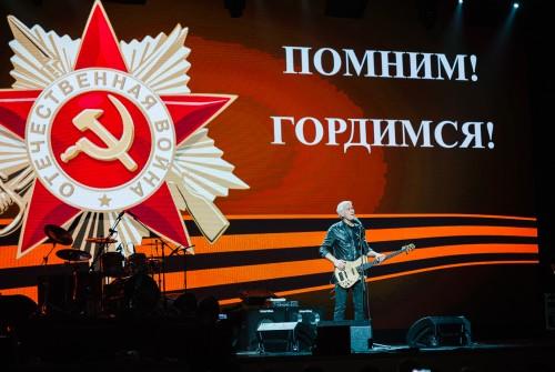 Ветеранов Красноярского края поздравил Заслуженный артист России Александр Маршал.